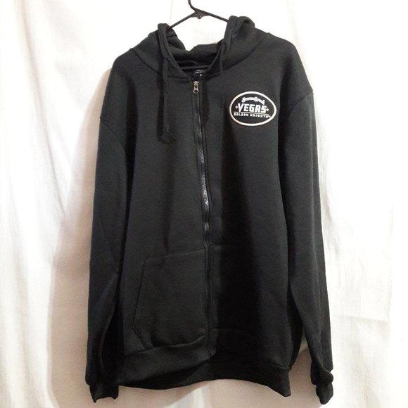 Mens Station Casinos Black Crew Neck Pullover Sweatshirt Large